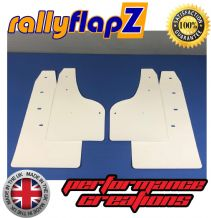 FOCUS Mk3 All Models (Except ST & Zetec S) (2012+) WHITE MUDFLAPS